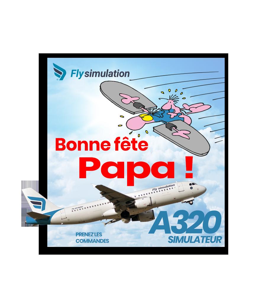 A320 - Offre spéciale Fête des pères
